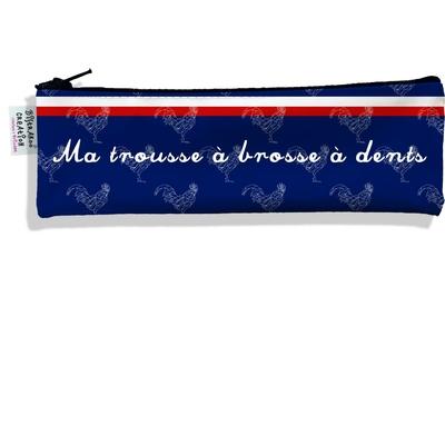 Trousse à brosse à dents Bleu marine Collection Française