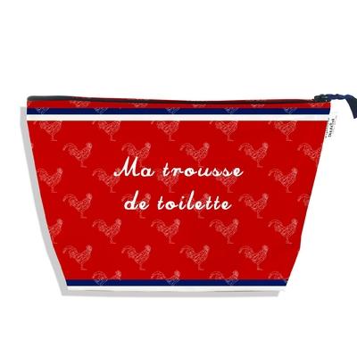 Trousse de toilette Rouge Collection Française
