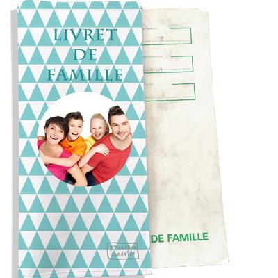 Protège livret de famille personnalisable Graphique