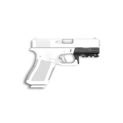 GR19L Rail Adapter for the Glock 19 Gen 1 and 2