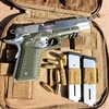 tactical recover rail 1911 vert od etfr holster france