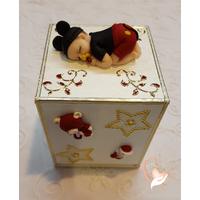 Tirelire bébé garçon Mickey - au coeur des arts