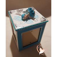 Cadre photo rotatif bébé fille - au coeur des arts