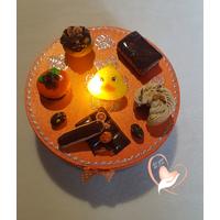36B-Boîte à biscuits ou chocolats - au coeur des arts