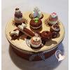 Boîte à biscuits ou gâteaux vanille caramel - au coeur des arts