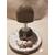 106D-au coeur des arts-Veilleuse lampe lumineuse sur socle en bois bebe garçon