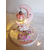 120-au coeur des arts-Veilleuse lampe licorne sur socle en bois bebe fille