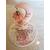 120B-au coeur des arts-Veilleuse lampe licorne sur socle en bois bebe fille