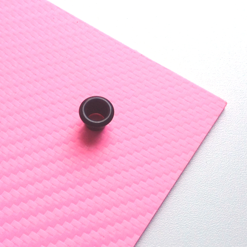 Hot pink carbon
