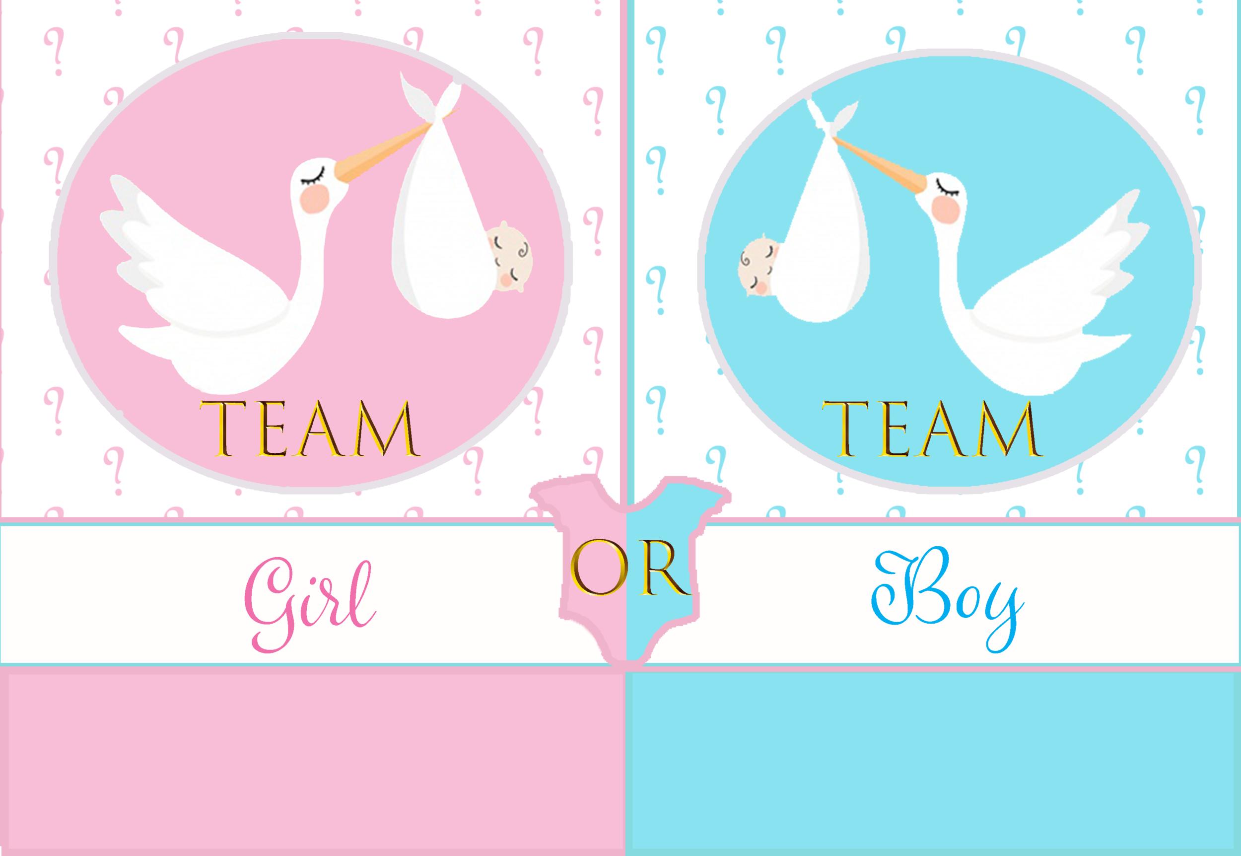 planche inspiration team girl or team boy