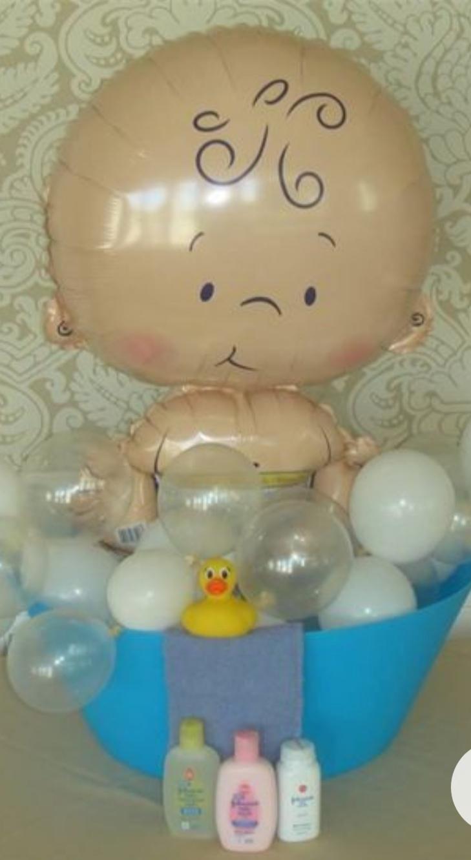 Douche de bébé baby shower ballon bébé-ohpartybox