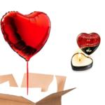 cadeau saint valantin ballon coeur