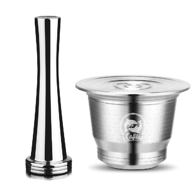 ICafilas-Stainless-Steel-Nespresso-Reusable-Capsule-with-Press-coffee-Metal-Tamper-Refillable-Inoxidable-Coffee-Pod-Filters