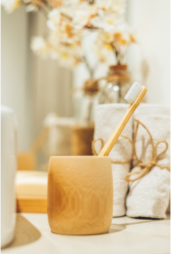 10 Bamboo adults toothbrushes