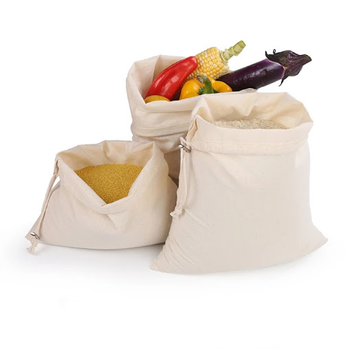 9 Small reusable veg & fruit bags