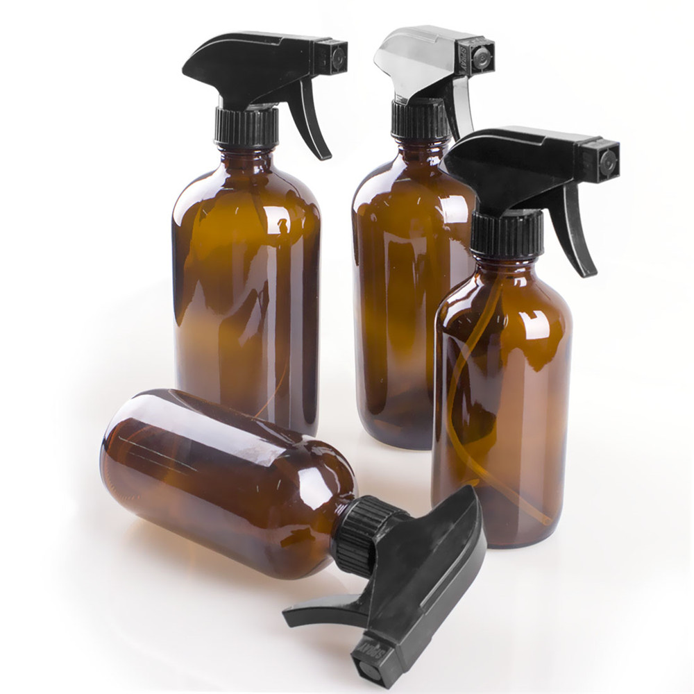 2 Spray Glass Bottles 250/500ml