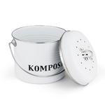 Bac-Compost-de-cuisine-5L-poubelle-maison-bio-Melons-feuilles-fer-rond-filtre-charbon-seau-accessoires