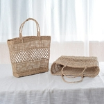 Vietnam-New-Women-Straw-Tote-Bag-Fashion-Big-Capacity-Water-Grass-Woven-Hollow-Handbag-Original-Ecology