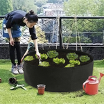 50-Gallon-Black-Plants-Growing-Bag-Vegetable-Flower-Aeration-Planting-Pot-Container-Black-Thickening-Fabric-Plant