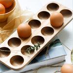 Japanese-style-Wooden-Double-Row-Egg-Storage-Box-Home-Organizer-Rack-Eggs-Holder-Kitchen-Decor-Accessories