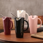 Novelty-Ceramic-Cup-with-StrawPersonality-Kitchen-Coffee-Mug-Creative-Frosted-Tea-Cup-480ml-Home-Office-Drinkware