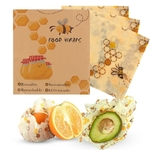 3pcs-set-Reusable-Food-Seal-Fresh-Wrap-Keeping-Wrap-Lid-Cover-Stretch-Vacuum-Food-Wrap-Beeswax