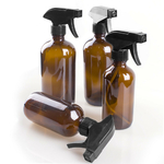 250-500ml-Large-Empty-Amber-Glass-Bottles-With-Black-Trigger-Mist-Stream-Spray-Storage-Cap-For