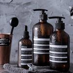Scandinavia-Brown-Glass-Storage-Bottle-100ml-Essential-Oil-Empty-Dropper-Bottle-250ml-500ml-Bathroom-Shampoo-Soap