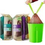 Dessiner-cha-ne-forte-jetable-ECO-sac-poubelle-grand-rouleau-en-plastique-sac-ordures-avec-emballage