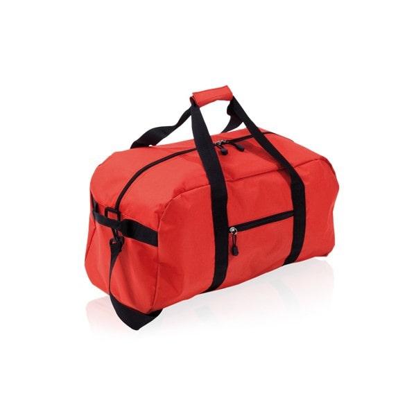 grand sac de sport rouge