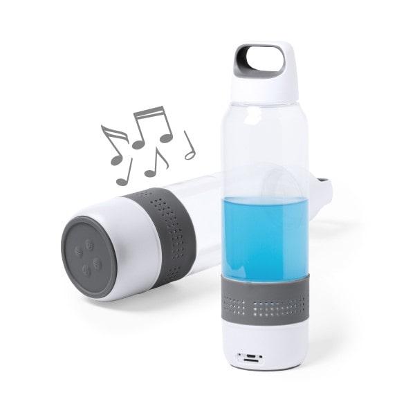 Gourde de Sport avec Enceinte Bluetooth Intégrée