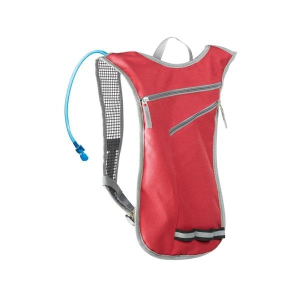 sac à eau de sport rouge