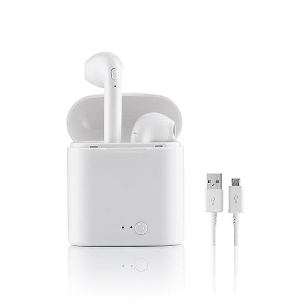 Écouteurs Bluetooth Blancs