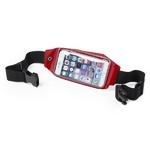 ceinture smartphone running rouge