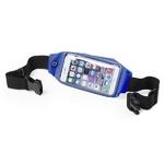 ceinture smartphone running bleue