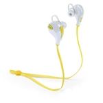 écouteur intra auriculaire sans fil jaune