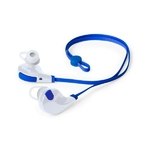 écouteur intra auriculaire sans fil bleu