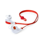 écouteur intra auriculaire sans fil rouge