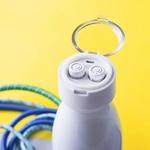 gourde isotherme avec écouteurs sans fil bluetooth rechargeables