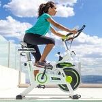 vélo dappartement avec transmission par chaine