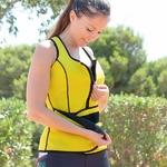 Gilet ceinture de sport jaune