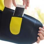 Gilet ceinture de sport avec rangement pour smartphone