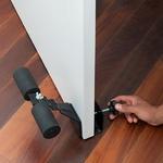 appareil pour abdos se mettant sur la porte