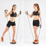 exercices musculaires avec lappareil de cardio