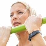 exercices sportifs avec un bracelet connecté