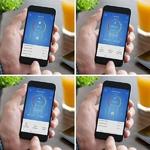 application mobile avec le bracelet connecté
