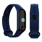montre connectée sport bleue pour les activités physiques