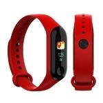 montre connectée sport rouge pour les activités physiques