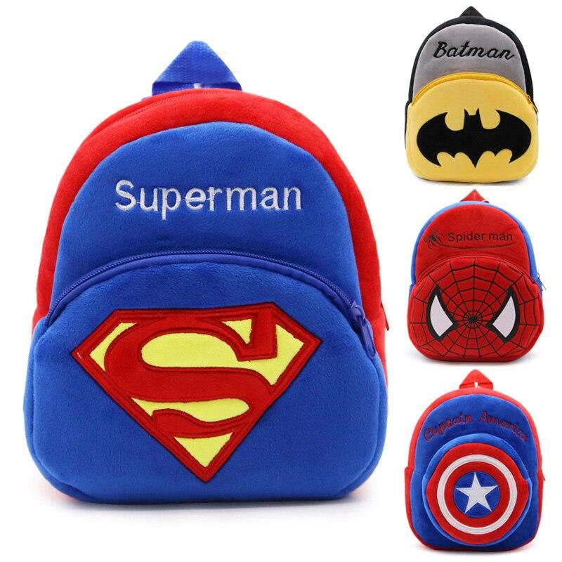 Le sac à dos maternelle peluche du Super Héro