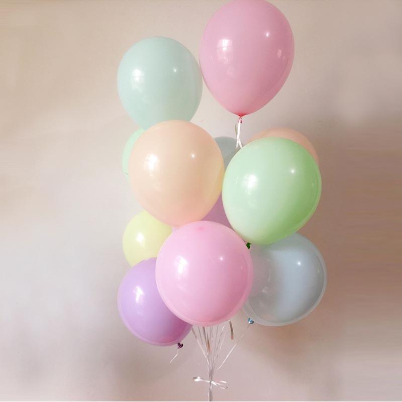 Les 100 ballons macarons